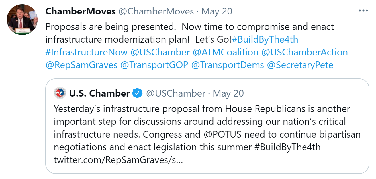Chamber Supports STARTER Act 2.0