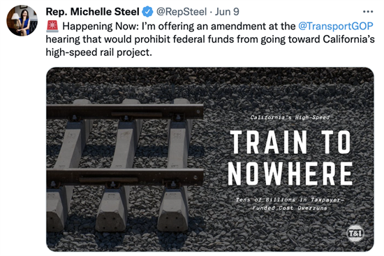 Steel Train to Nowhere
