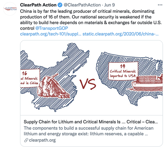 Clear Path Action Tweet